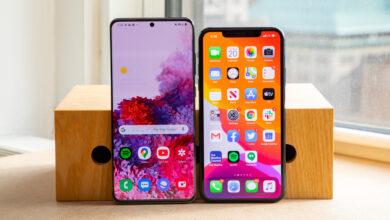 iPhone 11 vs Samsung S20